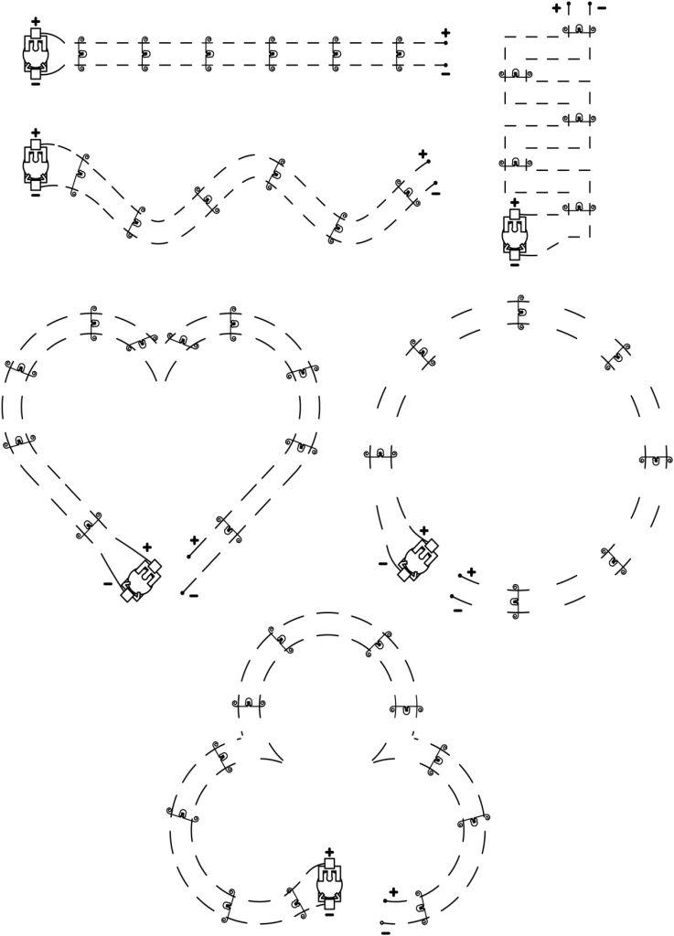 Sample Sewing Circuits